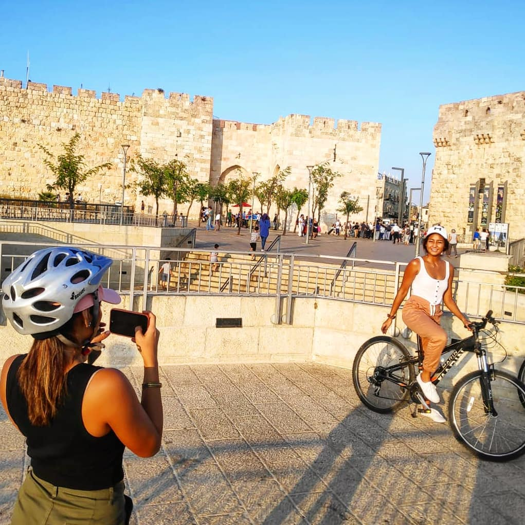 סיור אופניים בירושלים
